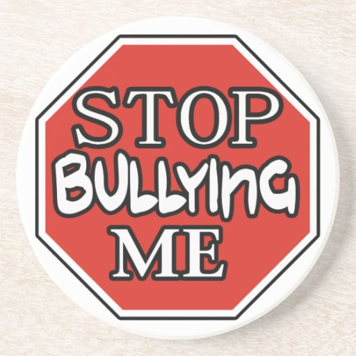 Stop Bullying Me -- Ornament Beverage Coasters