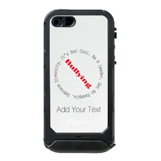 Stop Bullying-Outline by Shirley Taylor Incipio ATLAS ID™ iPhone 5 Case
