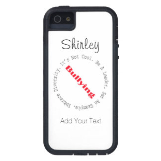 Stop Bullying-Outline by Shirley Taylor iPhone 5 Case