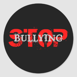 STOP BULLYING Sticker