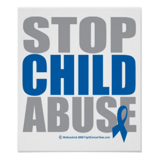Stop Child Abuse Poster
