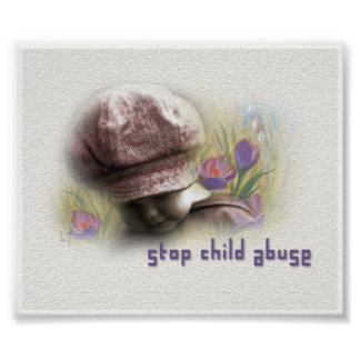 Stop Child Abuse Print