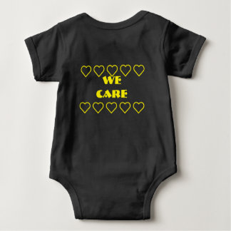 💛💛 Stop child cancer💛💛/ 💛💛 we care 💛💛 Baby Bodysuit
