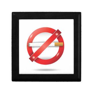 stop cigarette gift box
