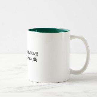 STOP DISCRIMINATION!!!   Hate everyone equally Coffee Mug