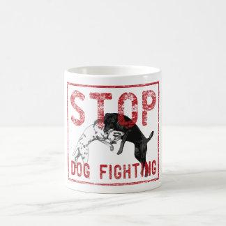 Stop Dog Fighting Coffee Mugs