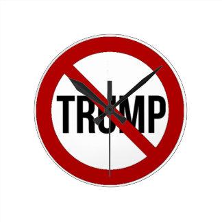 Stop Donald Trump Anti-Trump 2016 Wallclock