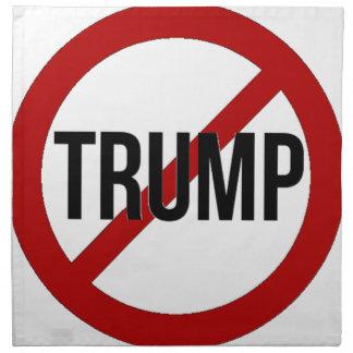 Stop Donald Trump Anti-Trump Napkin