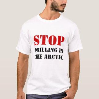 STOP, DRILLINGIN ARCTIC T-Shirt