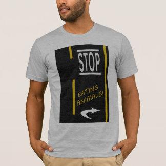 Stop Eating Animals Vegan T-Shirt