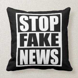Stop Fake News Cushion