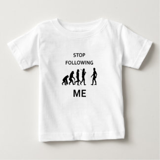 stop following me baby T-Shirt
