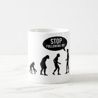 Stop Following Me Coffee Mug