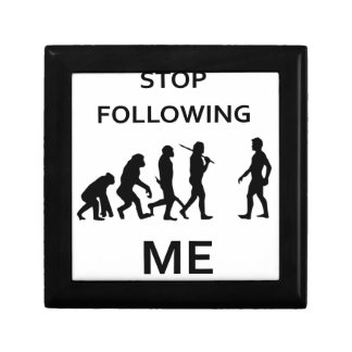 stop following me gift box