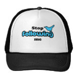 Stop following me hats