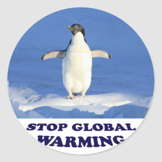 Stop Global Warming multiply siroki.png Classic Round Sticker