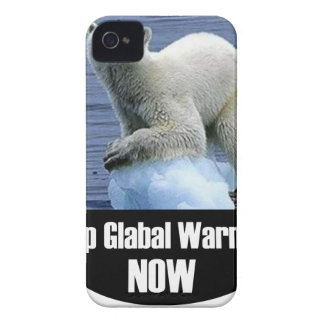 Stop Global Warming Now iPhone 4 Cover
