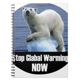Stop Global Warming Now Notebook