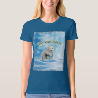 Stop Global Warming Polar Bear T Shirt
