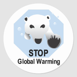 Stop Global Warming Stickers