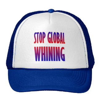 Stop Global Whining Mesh Hats