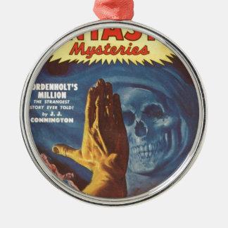 Stop, Grim reaper! Metal Ornament