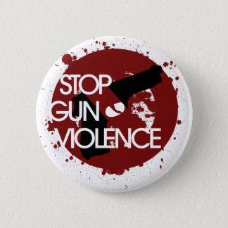 Stop Gun Violence 6 Cm Round Badge