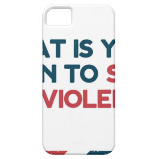Stop Gun Violence iPhone 5 Cover