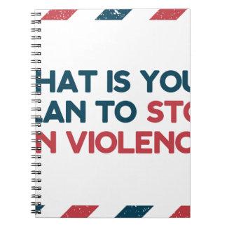 Stop Gun Violence Notebook