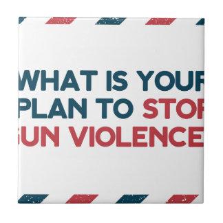 Stop Gun Violence Tile