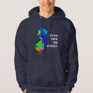 STOP H8'N ON JERSEY Hoodie