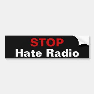 STOP Hate Radio Bumper Sticker