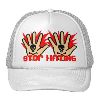 stop hating mesh hat
