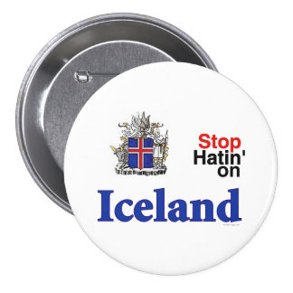 Stop Hating On Iceland Button