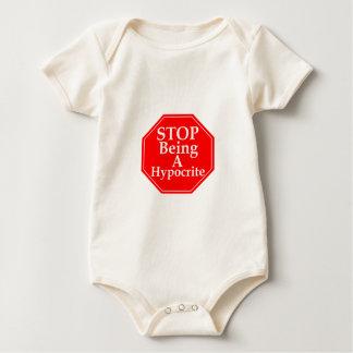 Stop Hypocrisy Baby Bodysuit