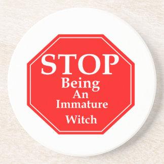 Stop Immaturity  #2 Coaster