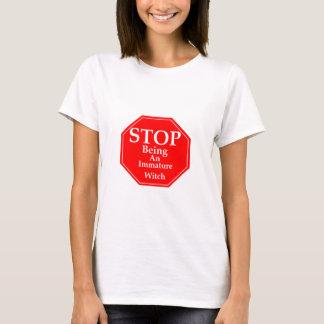 Stop Immaturity  #2 T-Shirt