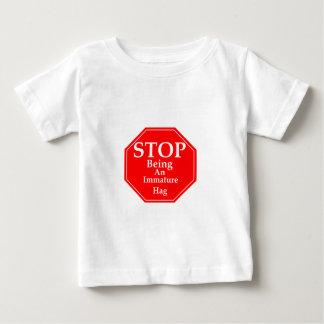 Stop Immaturity  #3 Baby T-Shirt