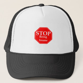 Stop Insanity Trucker Hat