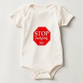 Stop Judging Baby Bodysuit