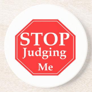 Stop Judging Coaster