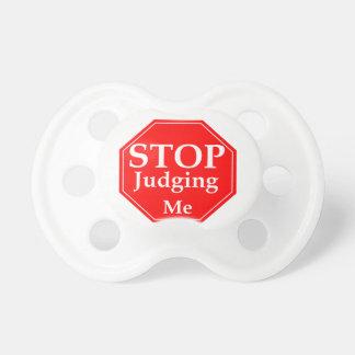 Stop Judging Pacifier
