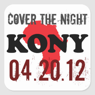 Stop Kony 2012 Stickers