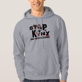 Stop Kony. End the Bloodshed. Hoodie