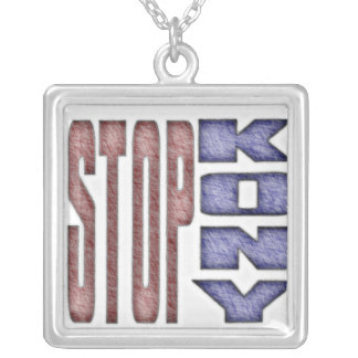 STOP KONY - Kids Crayon Colored Design Necklaces