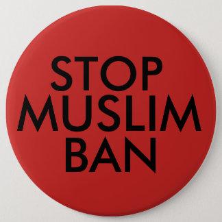 Stop Muslim Ban 6 Cm Round Badge