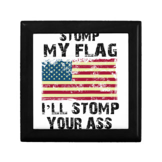 stop my flag i will stomp your gift box
