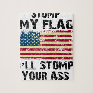 stop my flag i will stomp your jigsaw puzzle