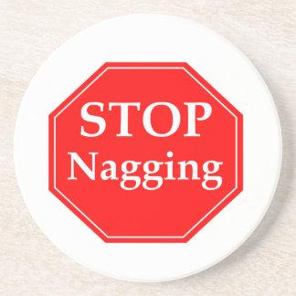 Stop Nagging Coaster