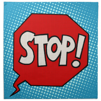 Stop Napkin